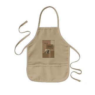 I'm so tired… And so cute Kids Apron