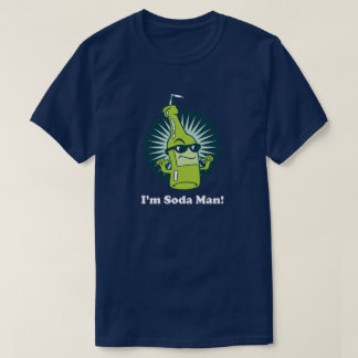 I'm Soda Man! Funny Pun Wordplay T-Shirt