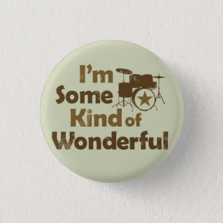 I'm Some Kind of Wonderful Flair 3 Cm Round Badge