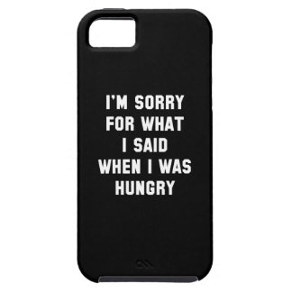 I'm Sorry For What I Said iPhone 5 Cases