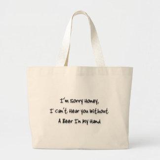 I'm sorry honey jumbo tote bag