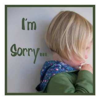 I'm Sorry Poster