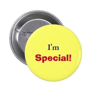I'm, Special!-Button 6 Cm Round Badge