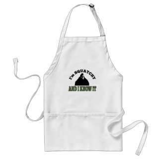 I'm SQUATCHY and I know it! Standard Apron