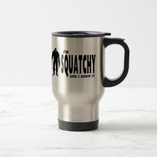 I'm Squatchy Stainless Steel Travel Mug