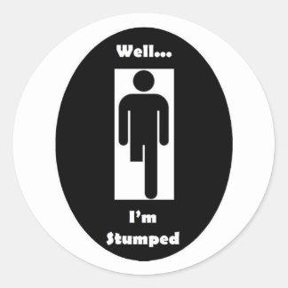 I'm Stumped Stickers