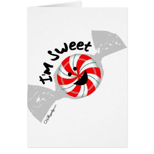 I'm Sweet Greeting Cards