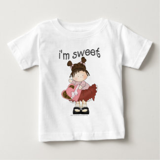 ♥ i'm sweet ♥ girly giggles baby T-Shirt