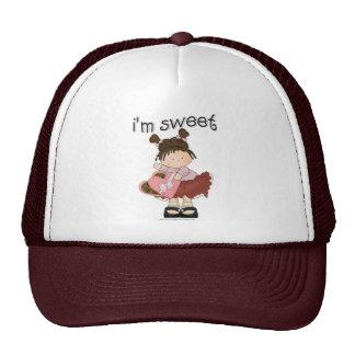 ♥ i'm sweet ♥ girly giggles trucker hats