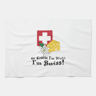I'm Swiss! Hand Towels