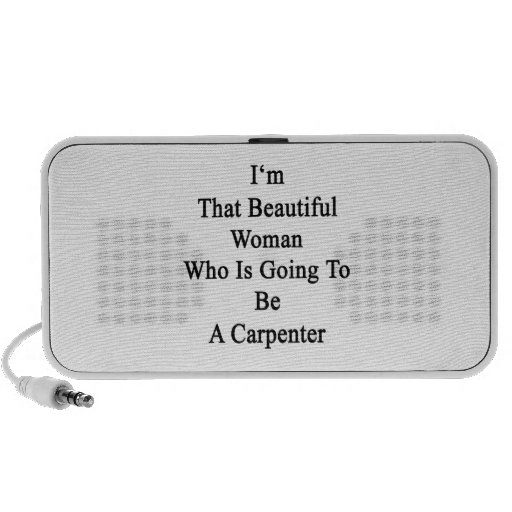 I'm That Beautiful Woman Who Is Going To Be A Carp Mini Speaker
