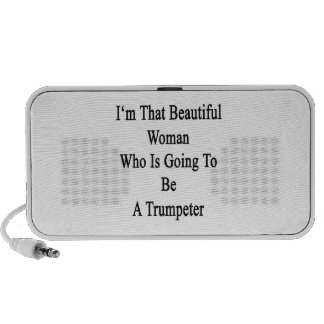 I'm That Beautiful Woman Who Is Going To Be A Trum Notebook Speakers