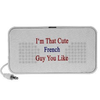 I'm That Cute French Guy You Like Travel Speaker