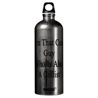 I'm That Cute Guy Who Is Also A Cellist SIGG Traveller 1.0L Water Bottle