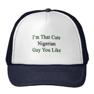 I'm That Cute Nigerian Guy You Like Cap