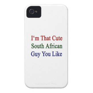 I'm That Cute South African Guy You Like iPhone 4 Case-Mate Case