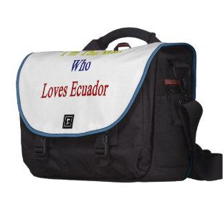 I'm That Man Who Loves Ecuador Laptop Commuter Bag