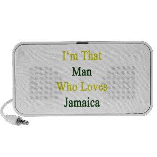 I'm That Man Who Loves Jamaica iPod Speaker