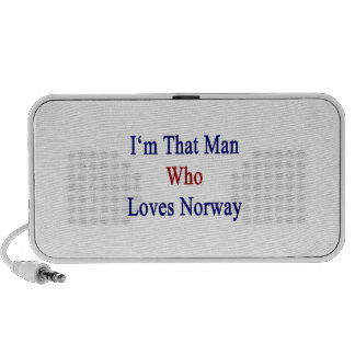 I'm That Man Who Loves Norway Laptop Speaker