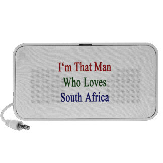 I'm That Man Who Loves South Africa Notebook Speakers