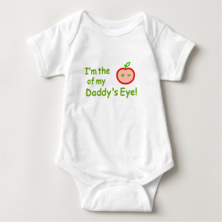 I'm the apple of Daddy's eyes! Baby Bodysuit