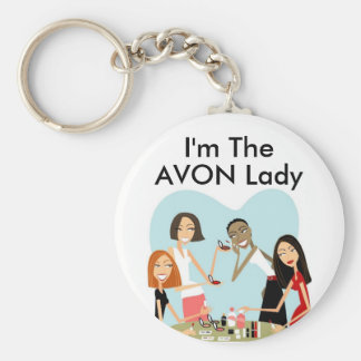 I'm The, AVON Lady Keychain