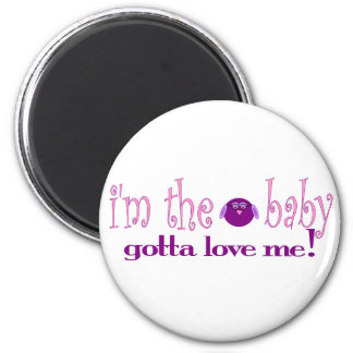 I'm the baby love me (pink) magnet