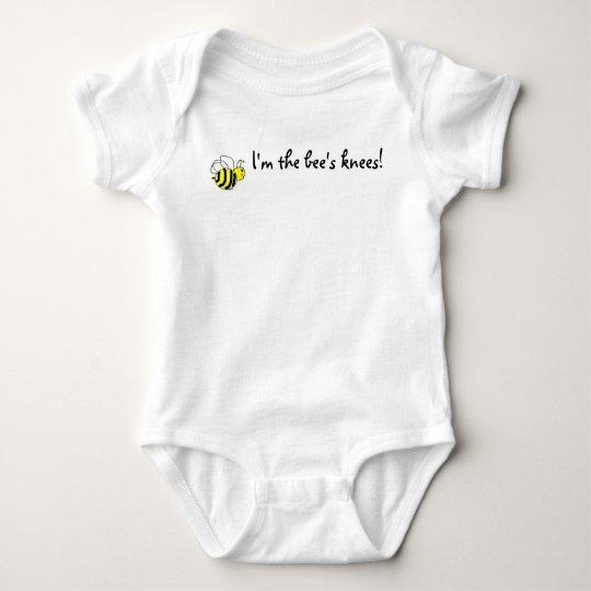 I'm the bee's knees! baby bodysuit