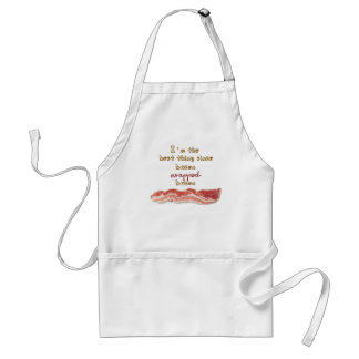 """""""I'm The Best Thing Since Bacon Wrapped Bacon"""" Standard Apron"""
