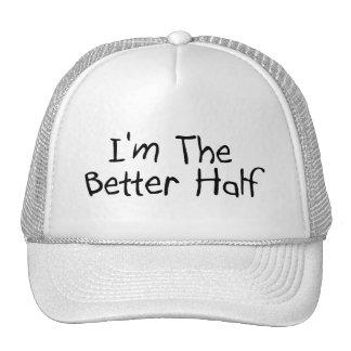 Im The Better Half Mesh Hats