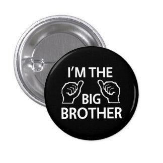 I'm the Big Brother 3 Cm Round Badge