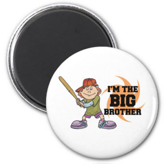I'm The Big Brother 6 Cm Round Magnet