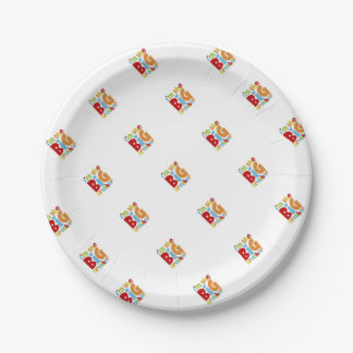 IM THE BIG BROTHER 7 INCH PAPER PLATE