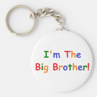 I'm the Big Brother Basic Round Button Key Ring
