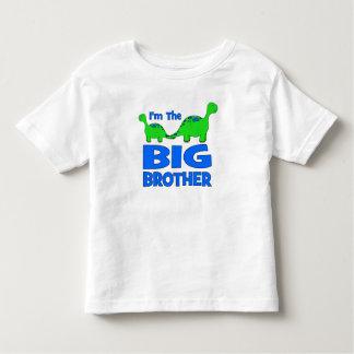 I'm the BIG Brother! Custom Dinosaur Design Toddler T-Shirt