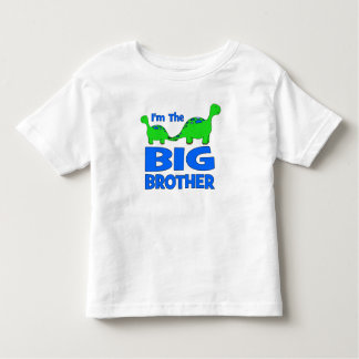 I'm the BIG Brother! Custom Dinosaur Design Tshirt