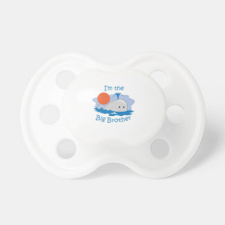 IM THE BIG BROTHER BooginHead PACIFIER