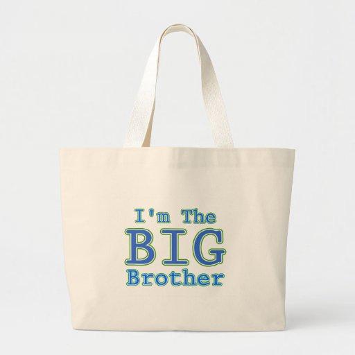 I'm the Big Brother Jumbo Tote Bag