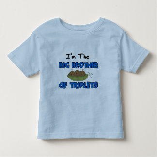 Im the BIG BROTHER of TRIPLETS (African American) Toddler T-Shirt