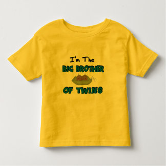Im the BIG BROTHER of TWINS Toddler T-Shirt