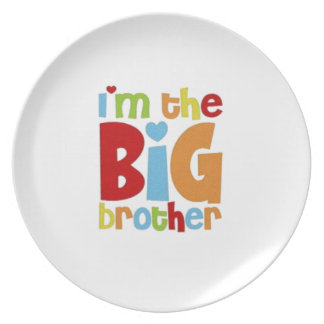 IM THE BIG BROTHER PARTY PLATES