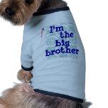 I'm the big brother pet t-shirt