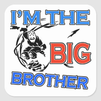 I'm The Big Brother Soccer Sticker