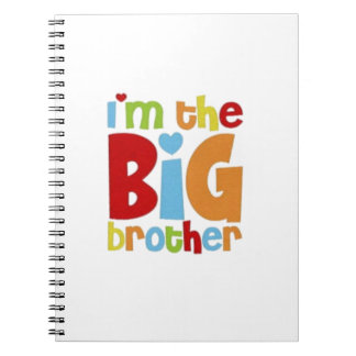 IM THE BIG BROTHER SPIRAL NOTEBOOK