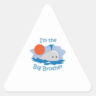 IM THE BIG BROTHER TRIANGLE STICKER
