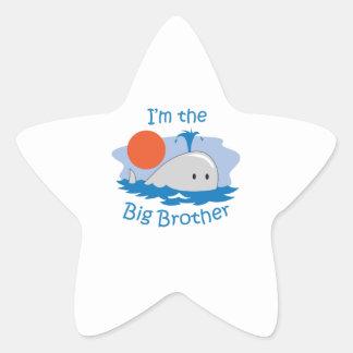 IM THE BIG BROTHER STAR STICKER