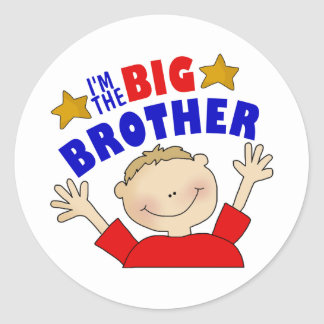 I'm The Big Brother Stickers