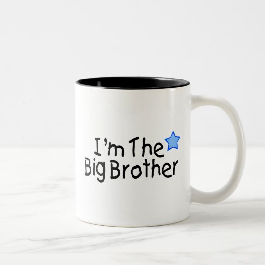 I'm The Big Brother Two-Tone Coffee Mug
