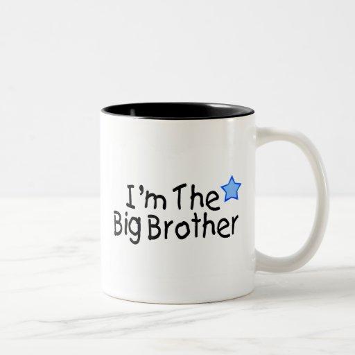 I'm The Big Brother Two-Tone Mug