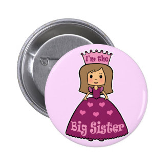 I'm the Big Sister 6 Cm Round Badge